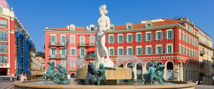 Photo de la Place Masséna à Nice